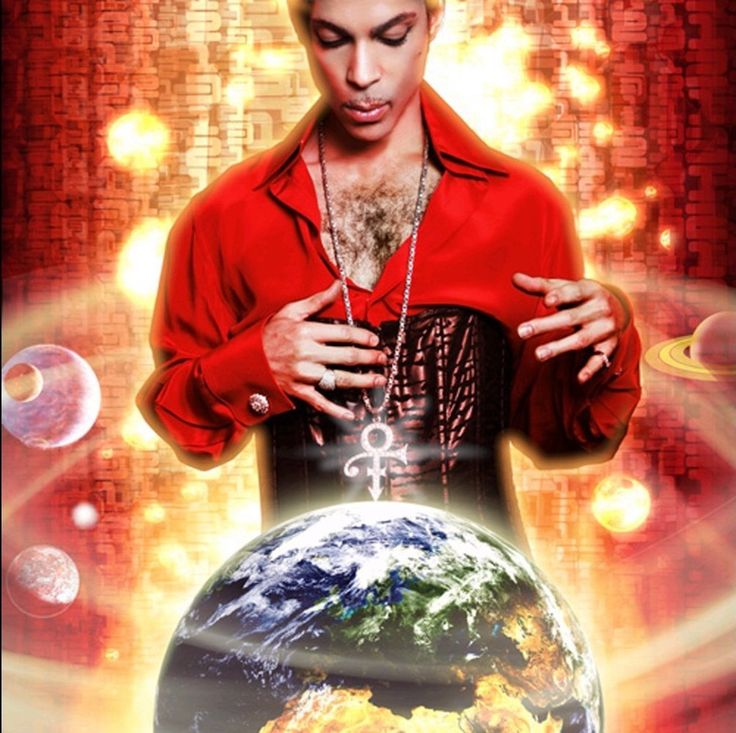 Prince Album Covers, Planet Earth (2007)