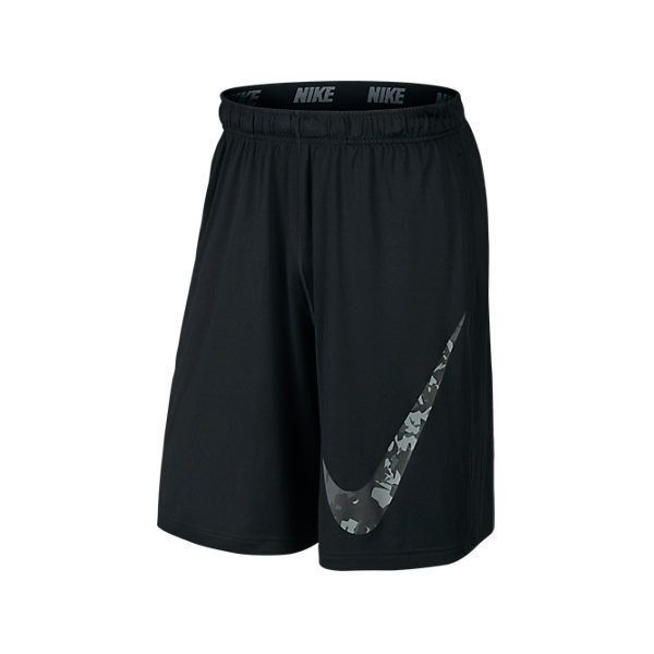 Nike Men\u0027s Fly Splinter Logo Training Shorts, Black ($30) ? liked on  Polyvore