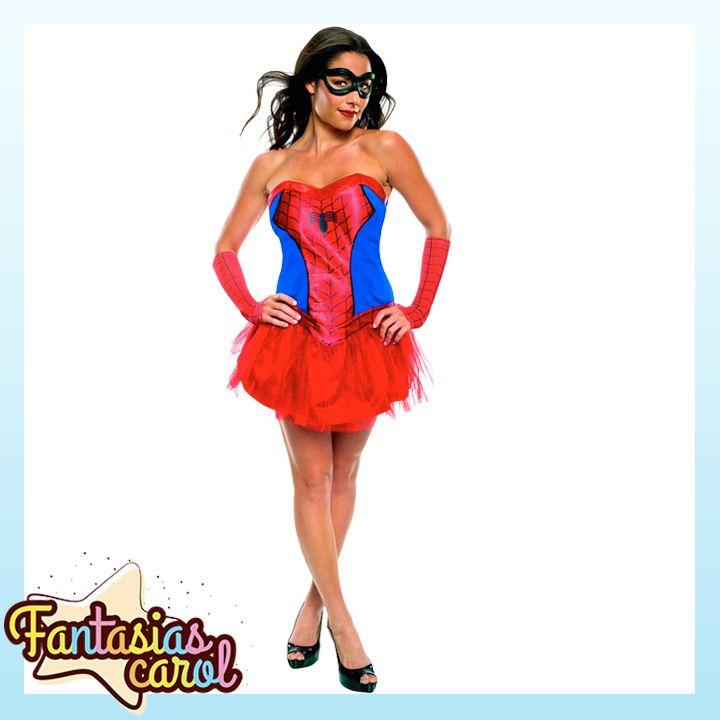 Lançamento Exclusivo para Clientes FantasiasCarol!  Fantasia Homem Aranha / Spider Man Feminina Adulto Original Importado por apenas..   Confira-> https://www.fantasiascarol.com.br/prod,idloja,25984,idproduto,5226148,festa-a-fantasia-adulto-fantasia-feminina-adulto-fantasia-homem-aranha---spider-man-feminina-adulto-original-importado