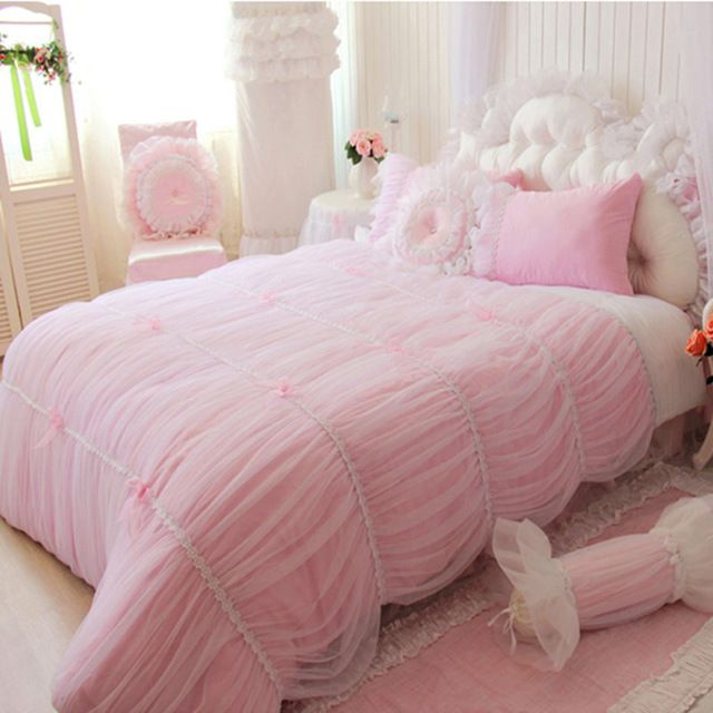 cheap bedding butterfly buy quality bedding set queen size directly from china skirt lace suppliers elegant rose pink bows lace princess bedding duvet