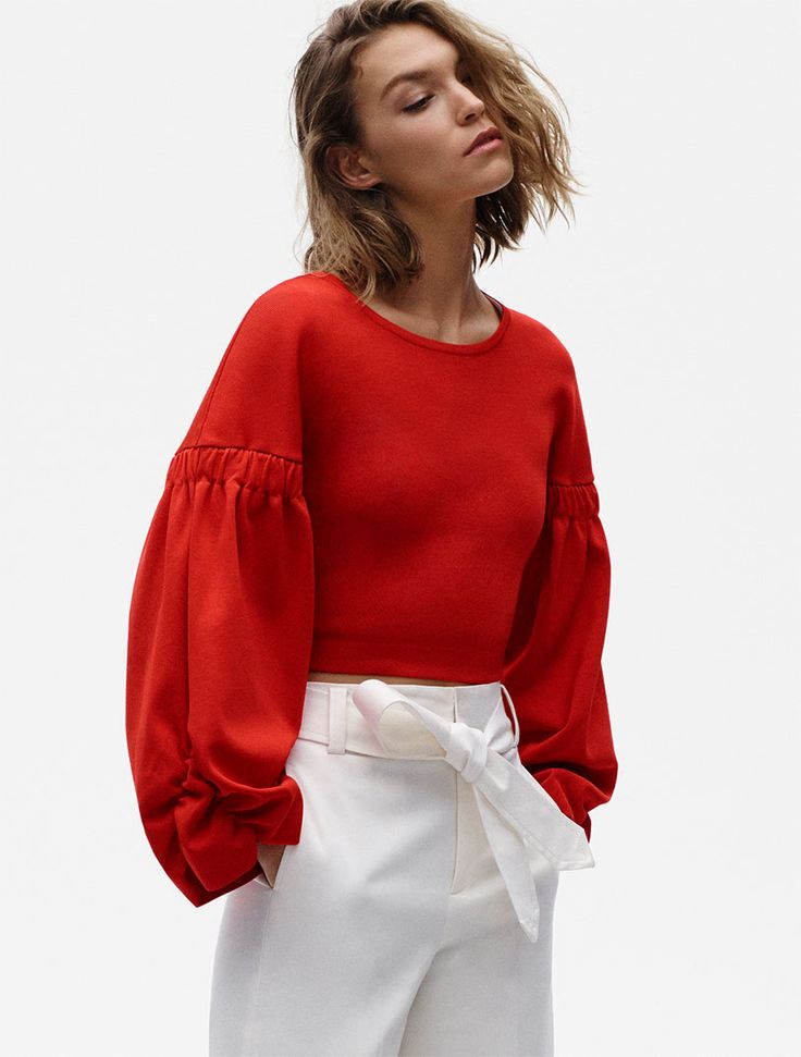 Red Womens Sweater