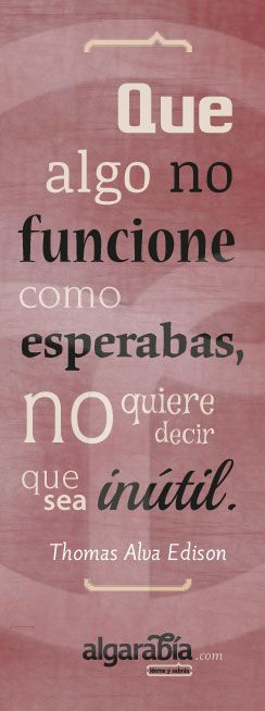 #Edison #Quote #Cita #Frase #Vida #Life
