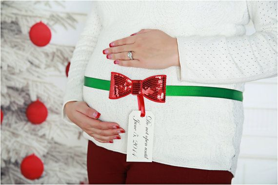 Hey, I found this really awesome Etsy listing at https://www.etsy.com/listing/170449946/sequin-bow-maternity-sash-christmas-baby