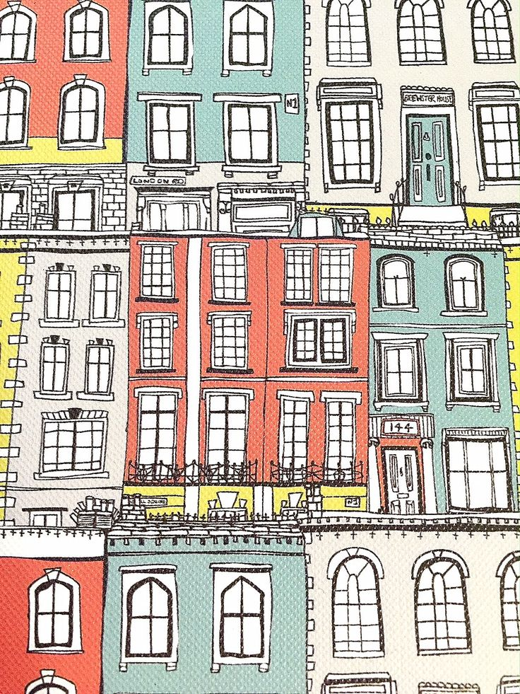 Make you own paper houses and tiny streets lined with paper real estate : )  Inspired series of 'house crafts' from this beautifully illustrated Jessica Hogarth paper pad #outofman