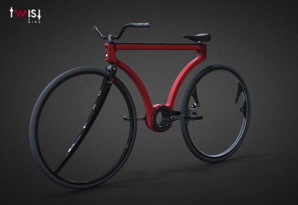 Le Twist Bike un concept singlespeed étonnant | Fixie Singlespeed, infos vélo fixie, pignon fixe, singlespeed.