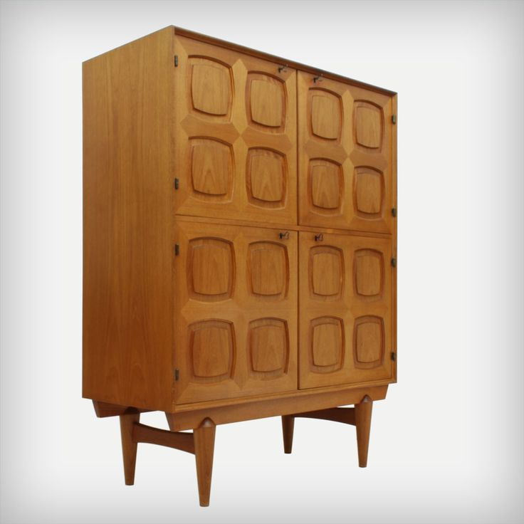 Teak Cupboard by Adolf Relling, Rolf Rastad & Alf Aarseth for sale - Mid-Century furniture, lamps, art and accessoires - 50s 60s 70s - We ship worldwide from Germany, NRW