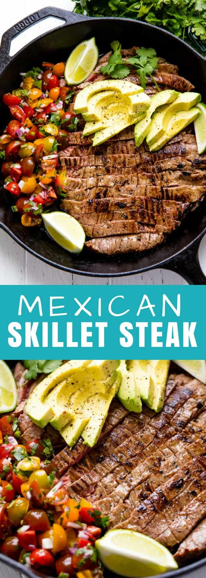 how to cook a steak skillet oven