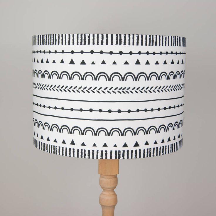 Scandinavian Pattern Lampshade