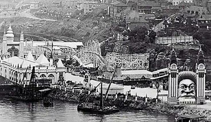 Luna Park soon after its 1935 opening -SMH