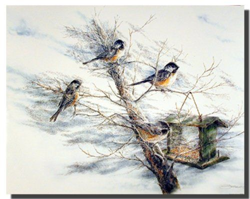This beautiful poster would add a calm and natural atmosphere to your home. This would be a captivating piece to add to any room with any décor style. This poster captures the image of chickadee birds sitting on a tree with a snow field all around will surely add instant style and decorative touch to your wall and grab lot of attention. It will be a wonderful addition to any home and goes with all décor style. Ensure high quality with high degree of color accuracy.