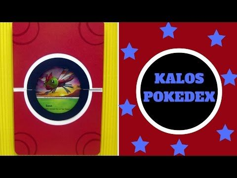 Pokemon Craft - How to make a Kalos Pokedex - Paper Craft - YouTube