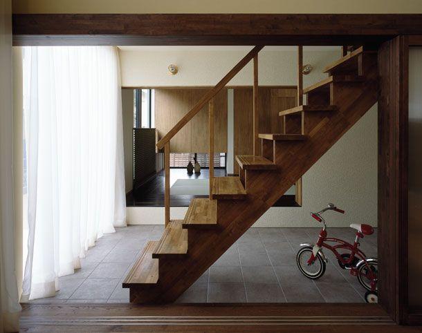 町屋のような家・間取り(千葉県) | 注文住宅なら建築設計事務所 フリーダムアーキテクツデザイン