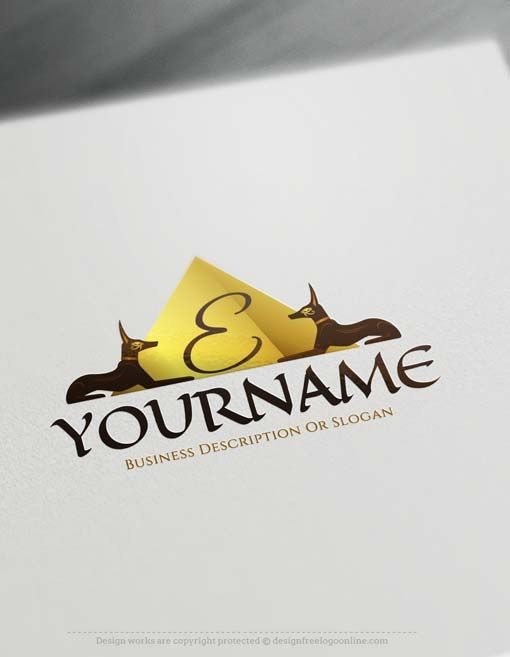 Make online ancient Egyptian Logo Logo Design with Free Logo Creator