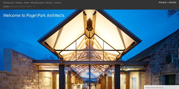 5 web design trend nei siti di architetti e studi di architettura