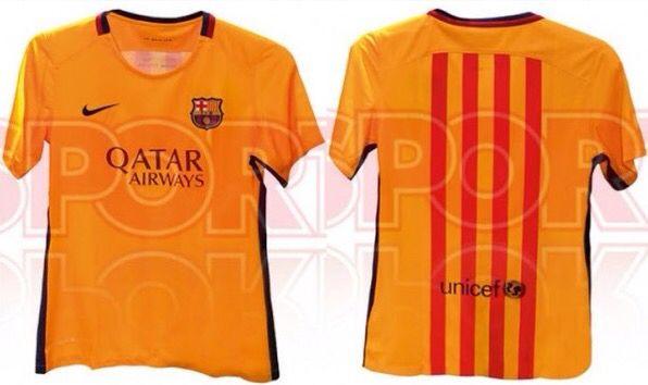 New fc barcelona shirt uit  15/16