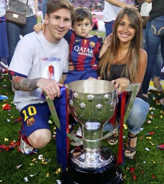 Messi Family #soccer #football #thiago