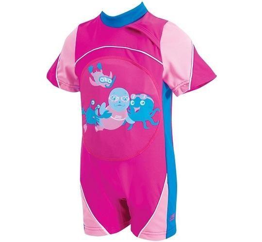 Zoggs Στολή κολύμβησης ''Μiss Zoggy'' ροζ 2-3 ΕΤΩΝ