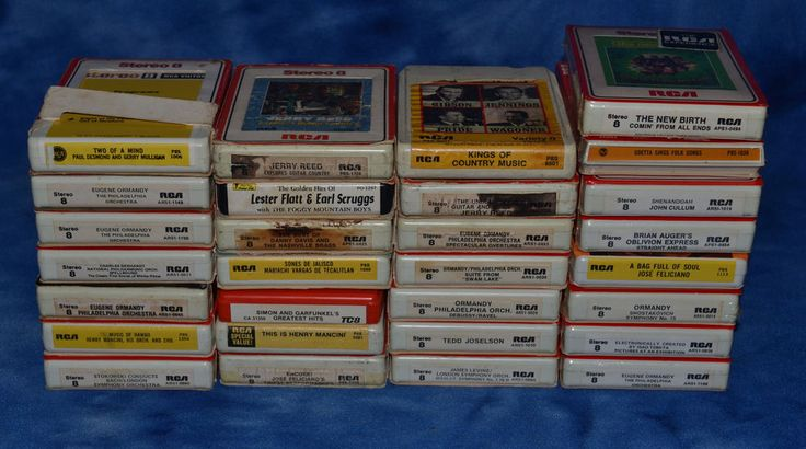 LOT OF 29 VTG 8 TRACK TAPES EASY LISTEN COUNTRY ORCHESTRA SOME FACTORY SEALED
