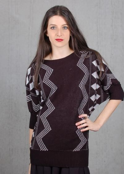 Round She Goes - Market Place - Murphy Knitted Top