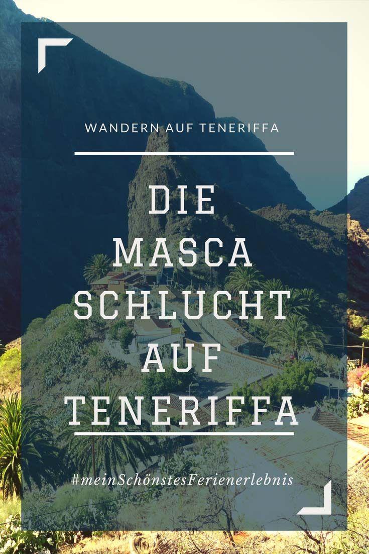 Die berühmte Masca Schlucht – Wandern auf Teneriffa