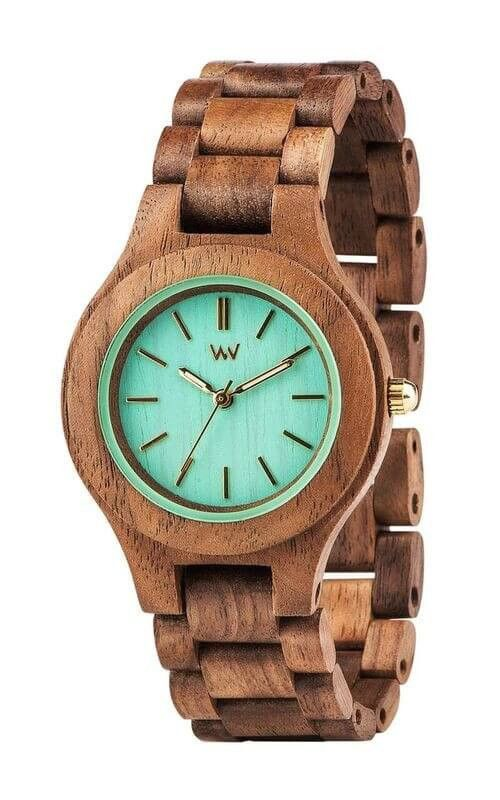 WeWOOD Antea Wood Watch Style Exclusively for Women 100% Natural Wood Hypo-allergenic Completely free of toxic chemicals Miyota movement Hardened, scratch-proof mineral