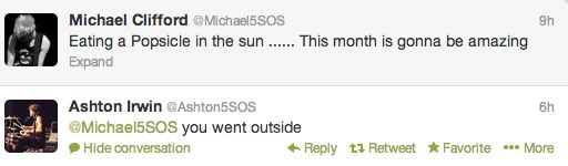 funny twitter fun love them Dorks 5sos 5 seconds of summer Ashton ...