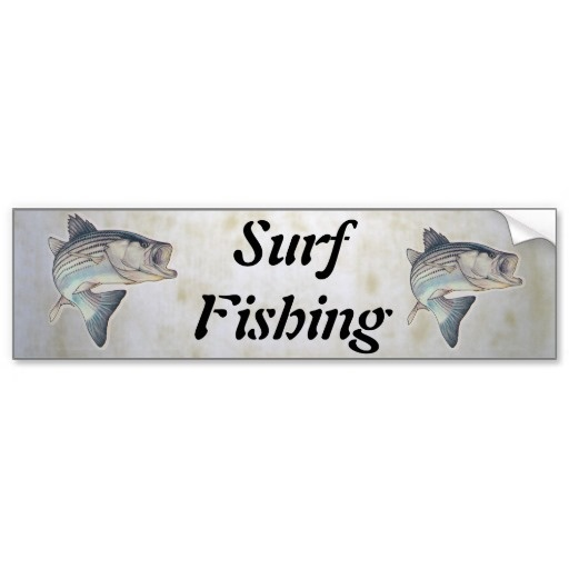 68 best images about surf fishing on pinterest surf for Fishing car stickers
