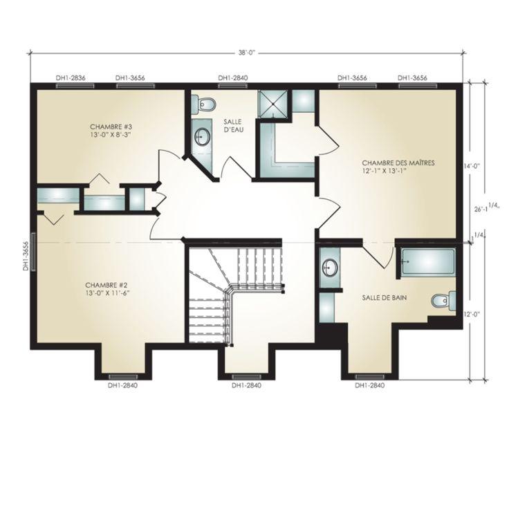 Pro-Fab   Constructeur de maisons modulaires, usinées, préfabriquées   Modèle Audrey