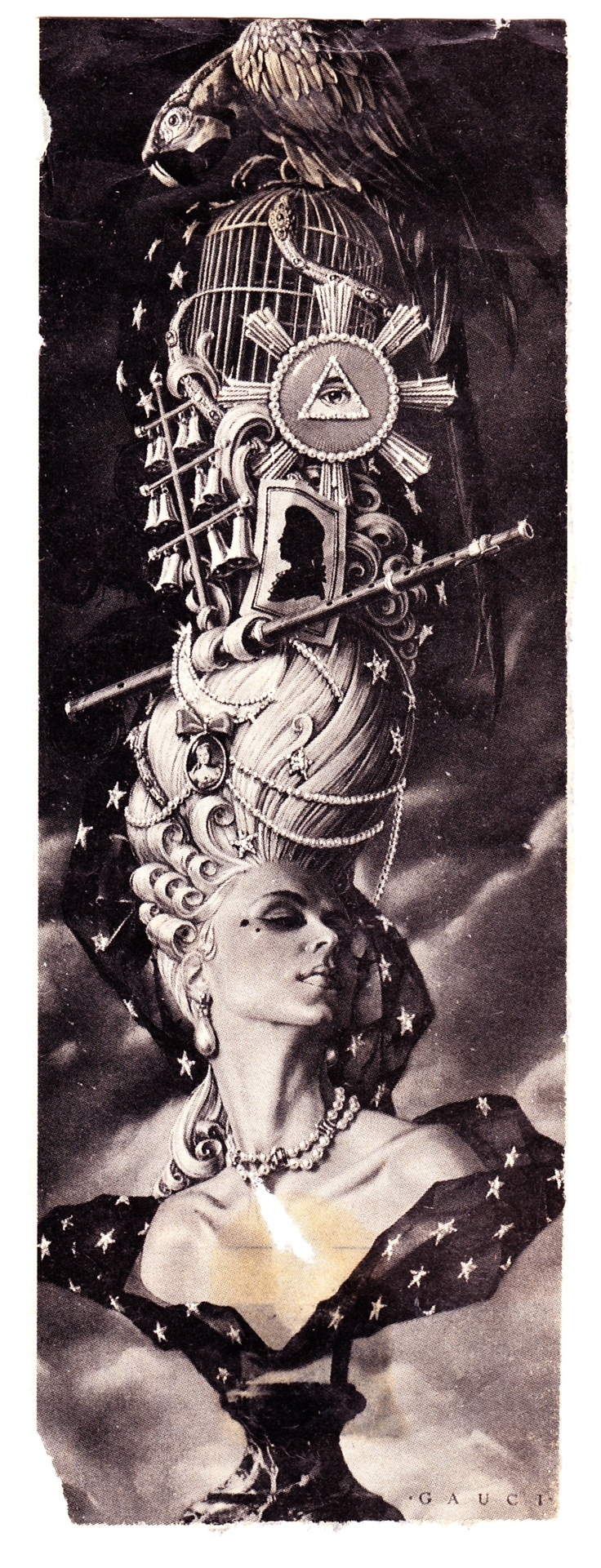 I've always loved this illustration for Mozart's Opera, The Magic Flute.  I've had this little clipping from a magazine for nearly 20 years!