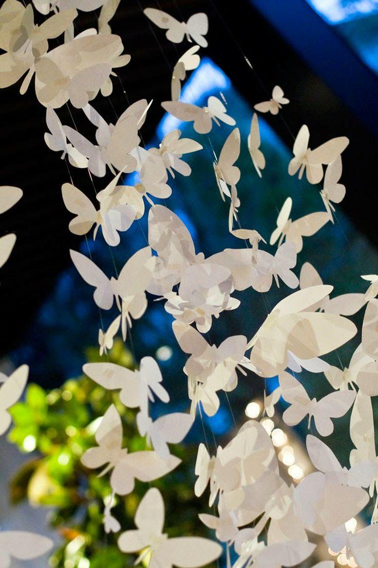 centros de mesa· tablespape · finca Somoza ·boda Santiago de Compostela · mariposas · butterfly