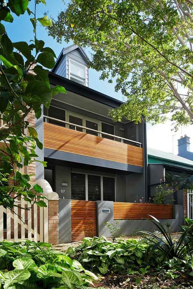 Balkon Open Haus in Australien