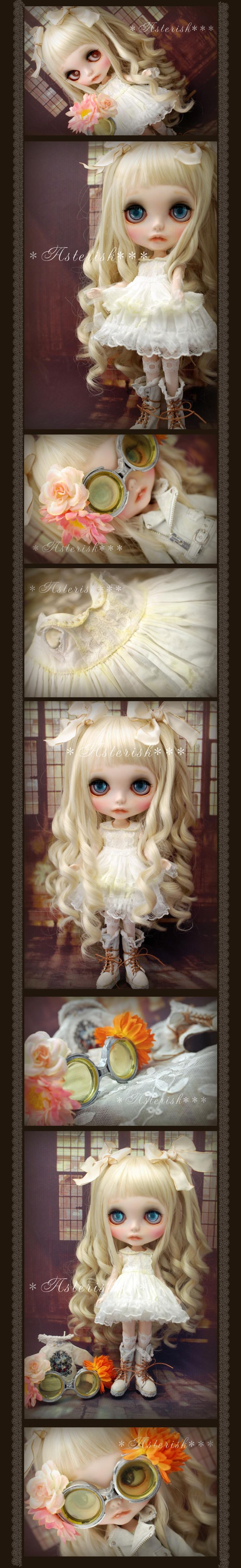 * Custom Blythe White Rider's JK-Asterisk *** Admin - Auction - Rinkya! Japan Auction & Shopping