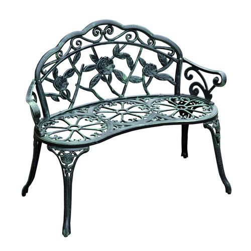 Found it at Wayfair - Cast Iron Antique Outdoor Patio Garden Bench