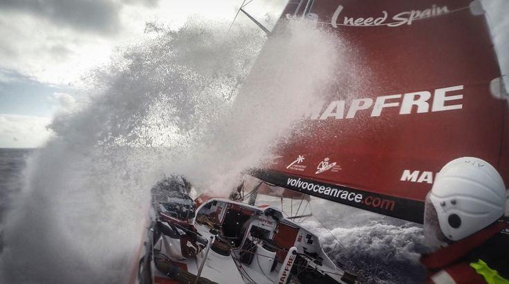 February 19, 2015. Leg 4 onboard MAPFRE.