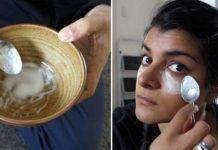 Cette fille frotte ses joues avec du bicarbonate de soude 3 fois par semaine. Les résultats sont incroyables!