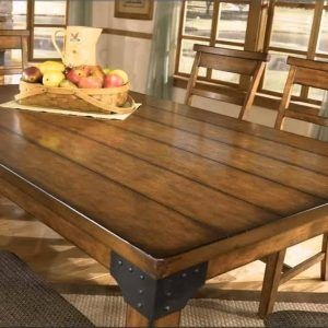 Rustic Wood Kitchen Table Sets