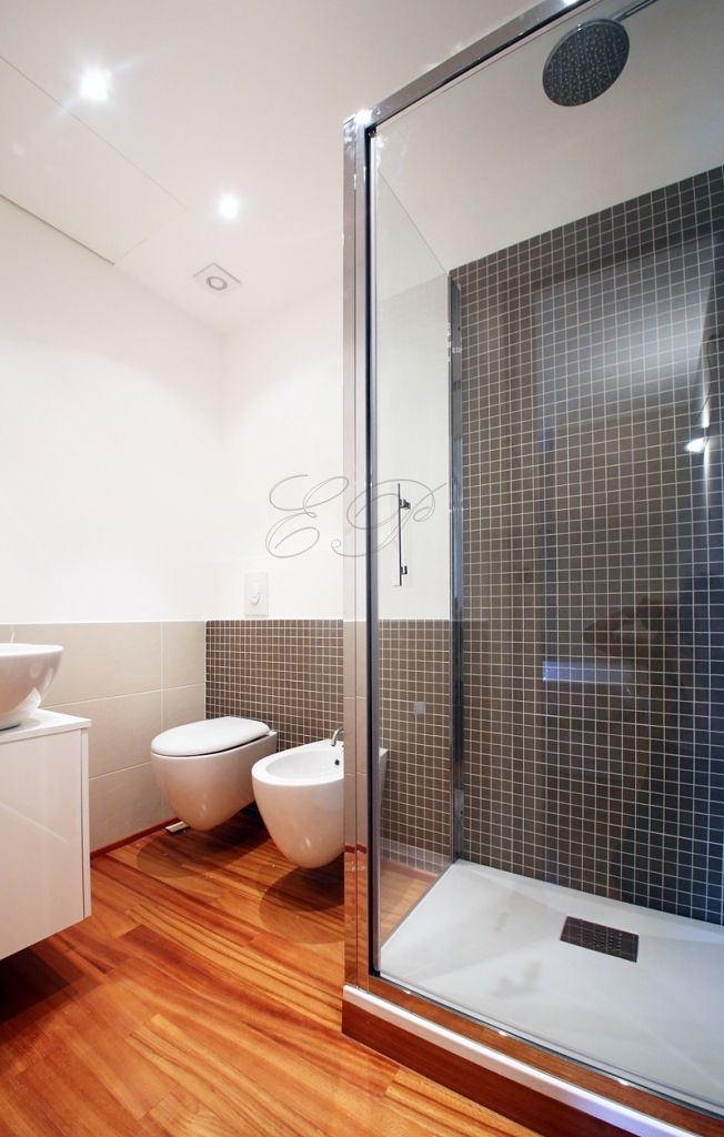 #fieramilanocity #corsosempione#arcodellapace bath with large glass shower cubicle