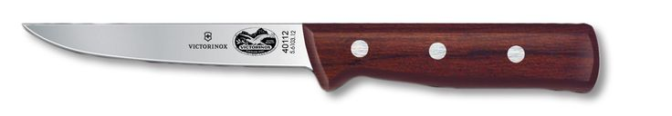 Victorinox Rosewood Boning Knife Straight Wide Stiff 5 inch