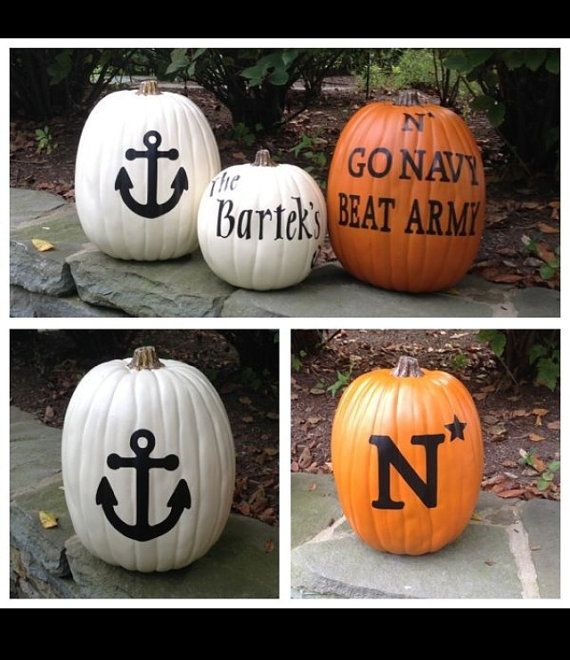 Go Navy decals USNA spirit by EverythingNAVY on Etsy