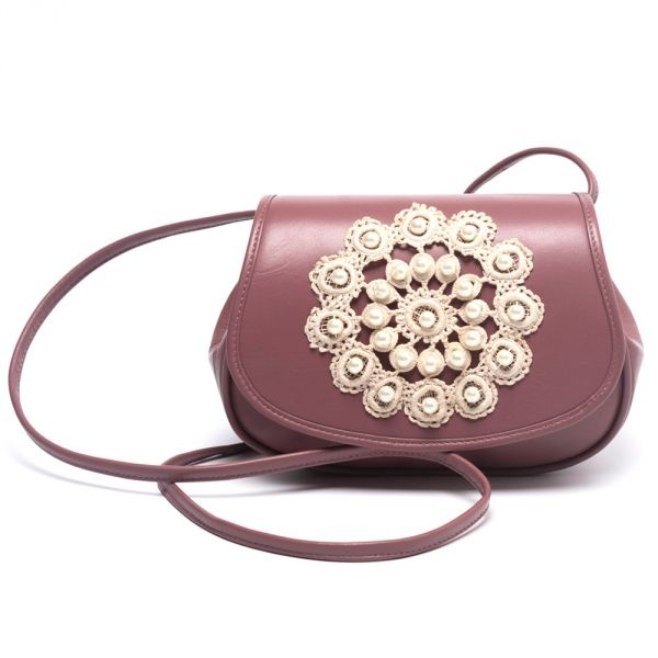 Leather Crochet Bag : Crochet leather bag Dont You Dare Steal This! Pinterest