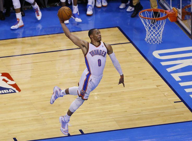 russell westbrook dunk hard