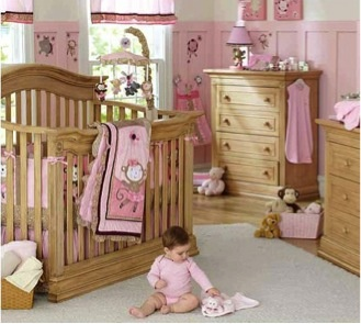 furniture. could be sweet or rustic. babies r us.