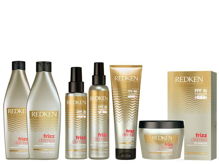 Shampoo, R$ 93,00, condicionador, R$ 117,00; máscara de tratamento, R$ 142,00; óleo antifrizz, R$ 127,00; spray antifrizz, R$ 108,00; creme para pentear, R$121,00; máscara de tratamento, R$ 142,00; lenços para cabelos finos, R$ 139,00. Tudo da linha Frizz