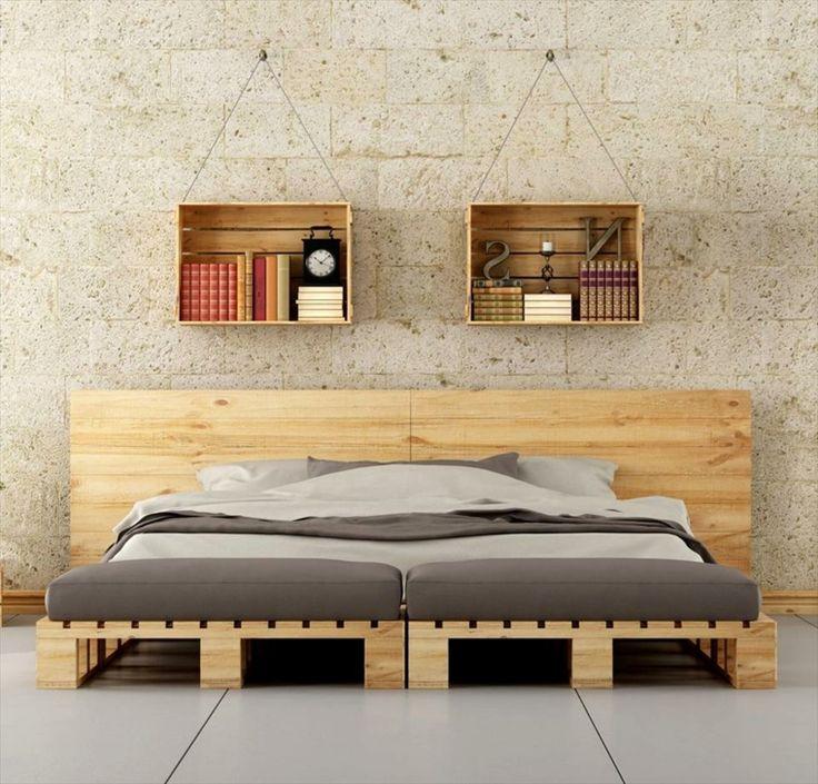 Oltre 25 fantastiche idee su testata del letto in legno su for Idee letto matrimoniale
