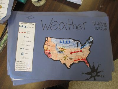 Fabulous in Fifth!: Weather Prediction Maps.