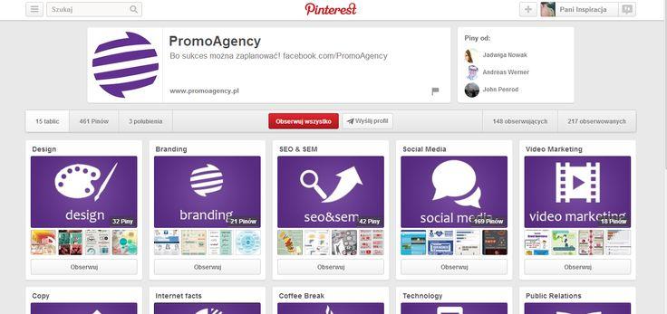 Kolejny profil prowadzony przez agencje  http://www.pinterest.com/harmoniquepr/