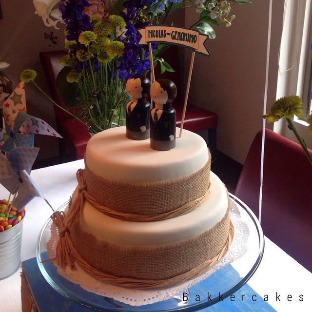 First communion Cake with toppers