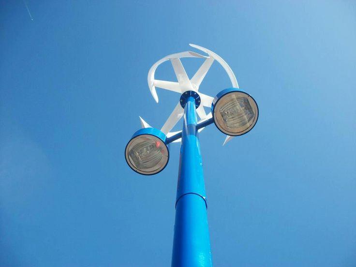 wind energy streetlight