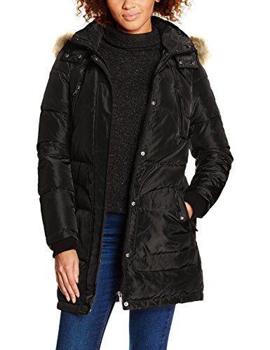 05deaf51bda Vero Moda VMBETSIE 3 4 JACKET Manteau Femme Noir (Black) 36 (Taille