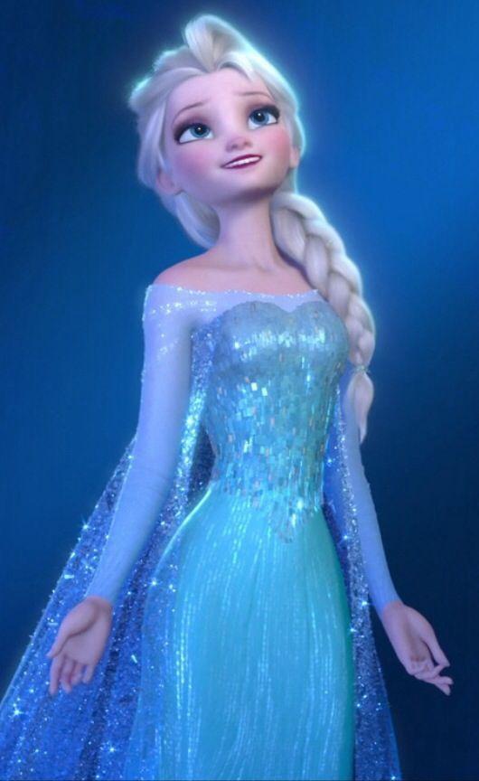 gown,blue ,dress,open shirt,long shirt,elsa ,frozen